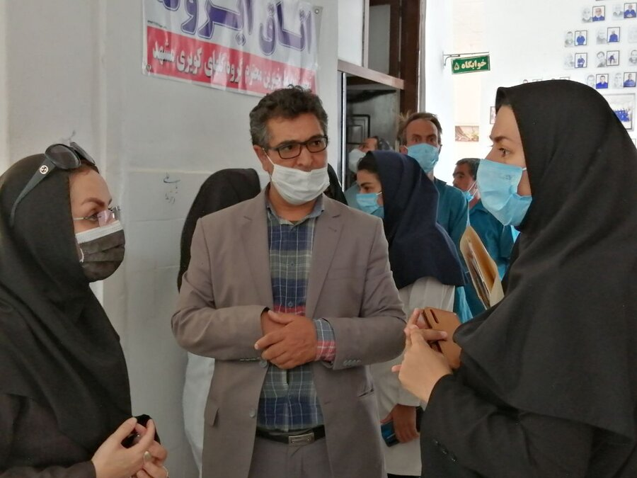 بازدید مدیرکل بهزیستی خ ج از مرکز بیماران اعصاب و روان بوعلی فردوس