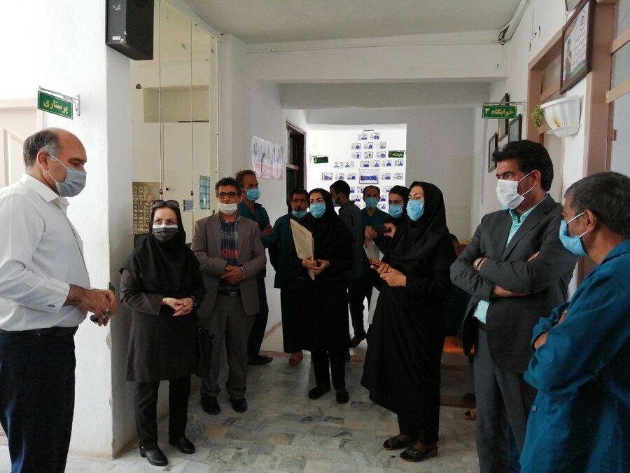 گزارش تصویری مدیرکل بهزیستی خراسان جنوبی از مرکز توانبخشی و نگهداری بیماران روانی مزمن بوعلی بازدید نمود
