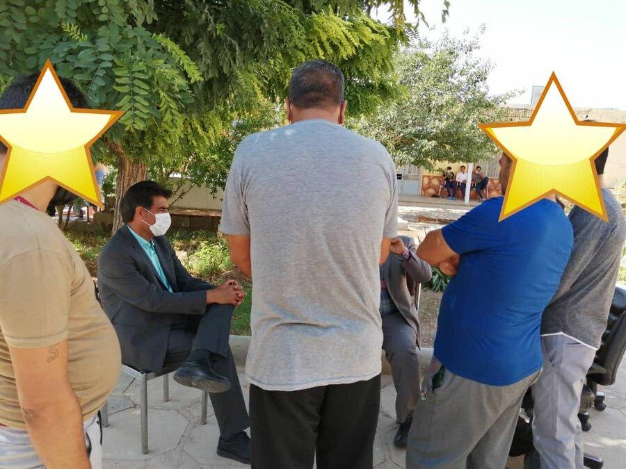بازدید مدیرکل بهزیستی خ ج از کمپ ترک اعتیاد شهرستان فردوس