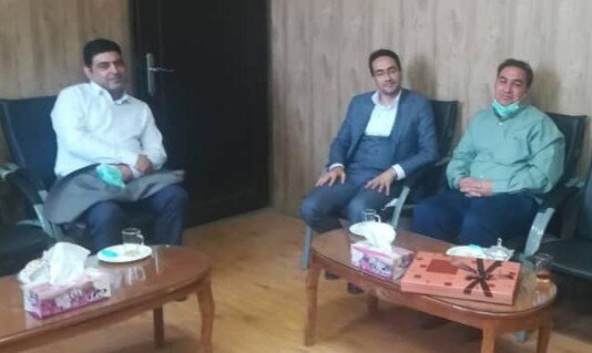 تفت | دیدار رئیس اداره بهزیستی شهرستان تفت با دادستان جدید شهرستان