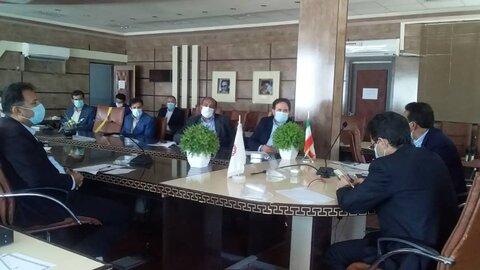 جلسه هم اندیشی با بانک های عامل استان درخصوص چگونگی ارائه تسهیلات