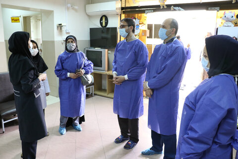 بازدید از خانه نوزادان و نونهالان مهر ( شیرخوارگاه) در رشت