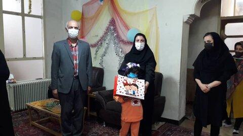 شاهرود | جشن میلاد فاطمه معصومه(س) و روز دختر در خانه کودکان و نوجوانان شهرستان