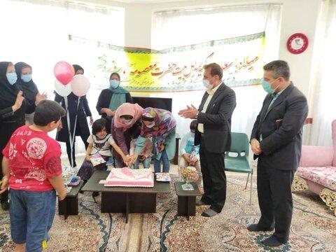 گزارش تصویری| جشن روز دختر در شیرخوارگاه بهزیستی ایلام