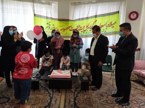 گزارش تصویری  جشن روز دختر در شیرخوارگاه بهزیستی ایلام