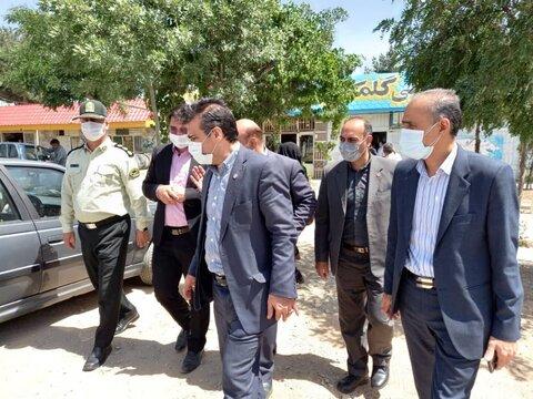 بازدید از مراکز بهزیستی گلبهار