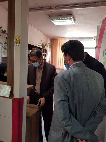 حضور مدیرکل دفتر امور کودکان و نوجوانان بهزیستی کشور در مراکز کودکان