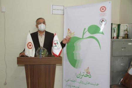 برگزاری مراسم تجلیل از کارشناسان و دختران موفق مرکز ندای مهر باران اردبیل