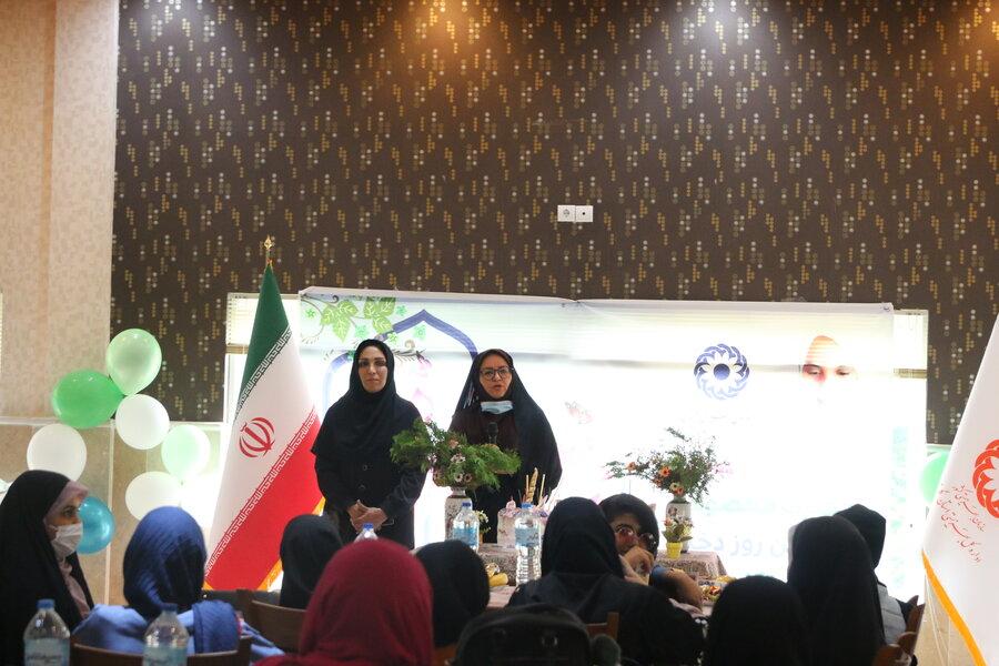 برگزاری جشن روز دختر در بهزیستی گلستان