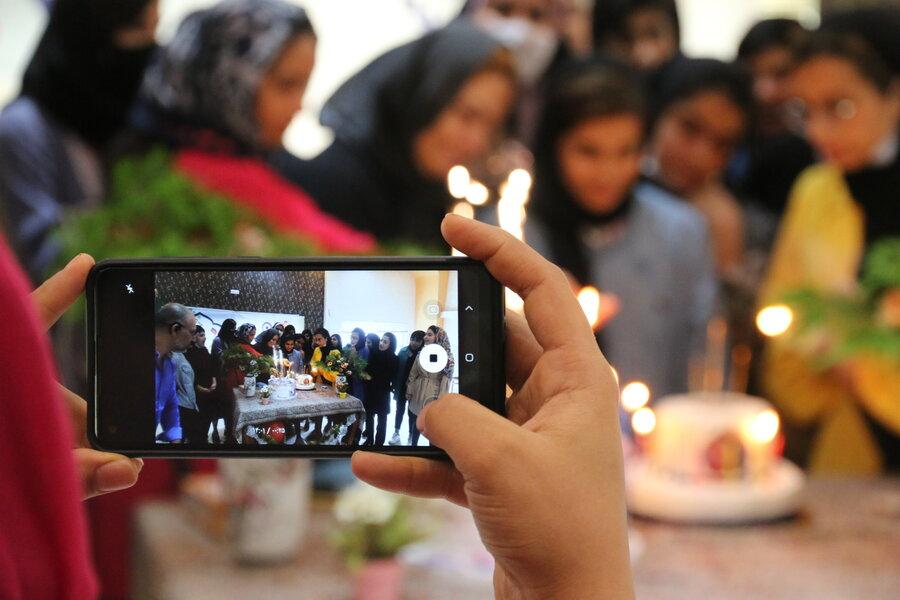 گزارش تصویری | جشن روز دختر در بهزیستی گلستان