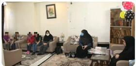 گزارش تصویری ا آیین تجلیل از دختران مقیم خانه ها و دختران شاغل در بهزیستی استان