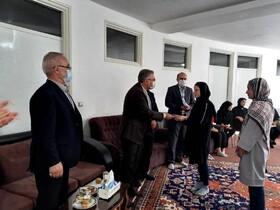 گرامیداشت روز دختردر خانه های نگهداری بهزیستی استان اردبیل
