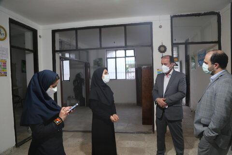 بازدید مدیر کل دفتر امور آسیب دیدگان اجتماعی سازمان بهزیستی کشور از مرکز مثبت زندگی