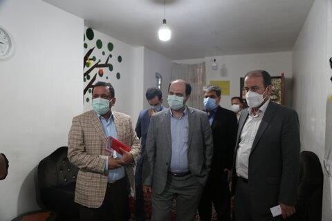 بازدید مدیر کل دفتر امور آسیب دیدگان اجتماعی سازمان بهزیستی کشور از مرکز امید ساری