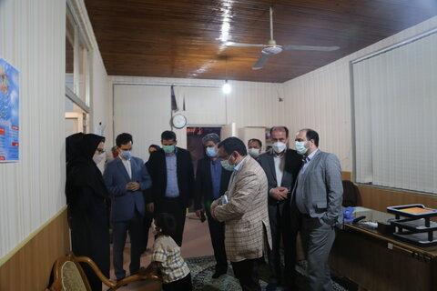 مدیر کل دفتر امور آسیب دیدگان اجتماعی سازمان بهزیستی کشور از مرکز ساماندهی کودکان خیابانی بازدید کرد