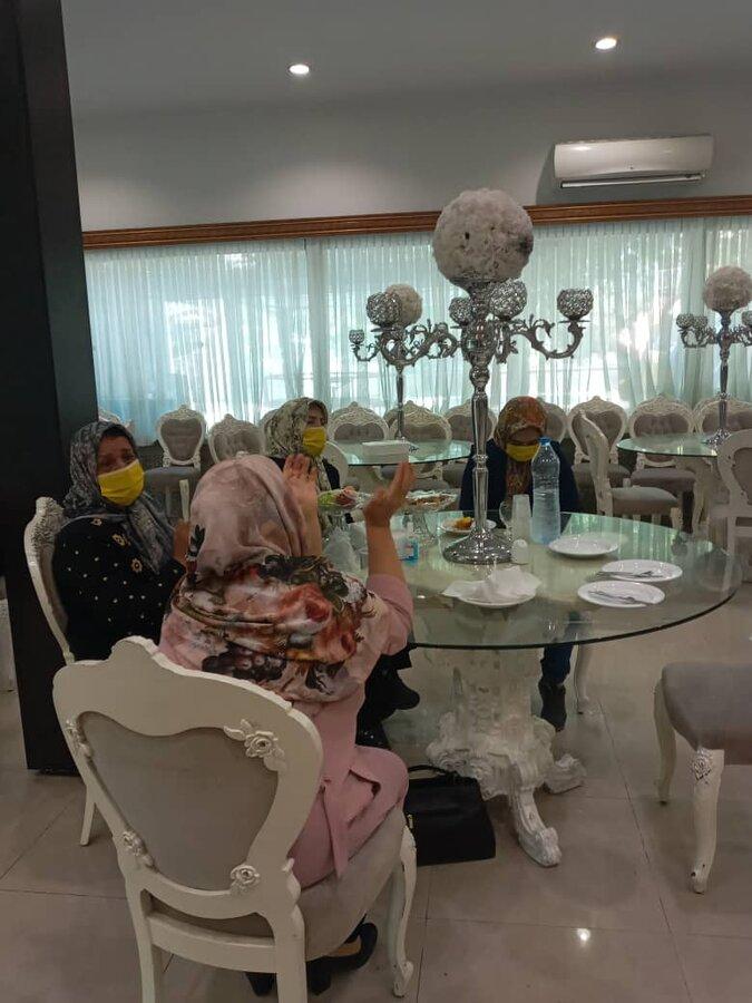 ملارد| برپایی جشن برای دختران مددجو