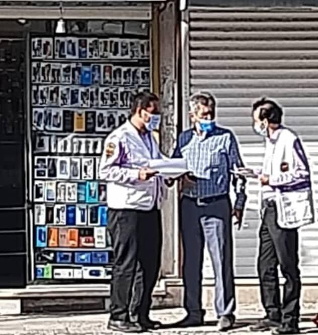 گشت تیم سیار اورژانس اجتماعی شهرستان