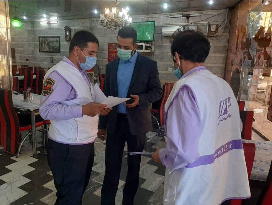 فیروزکوه| گشت تیم سیار اورژانس اجتماعی شهرستان