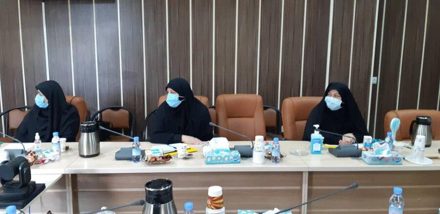 نشست رابطین حراست استان در خصوص برگزاری انتخابات