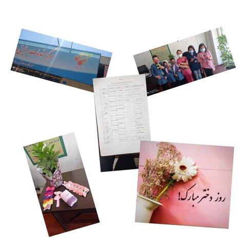 نظرآباد | برگزاری مراسم گرامیداشت روز دختر در مرکز مثبت زندگی کد ۴۸ نظرآباد