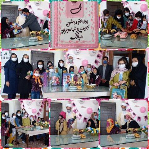 نظرآباد |برگزاری جشن روز دختر در مرکز نگهداری کودکان بی سرپرست و بدسرپرست مهر علی (ع) نظرآباد