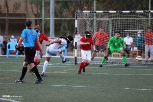 کرمانی های فوتبال نابینایان خوش درخشیدند