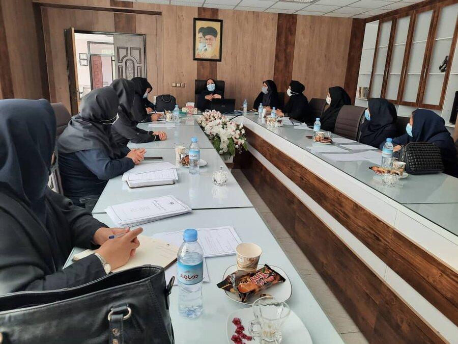 برگزاری اولین دوره آموزشی شیوه نامه مراقبت از کودکان بدون مراقب موثر در بستر خانواده ، در منطقه غرب استان