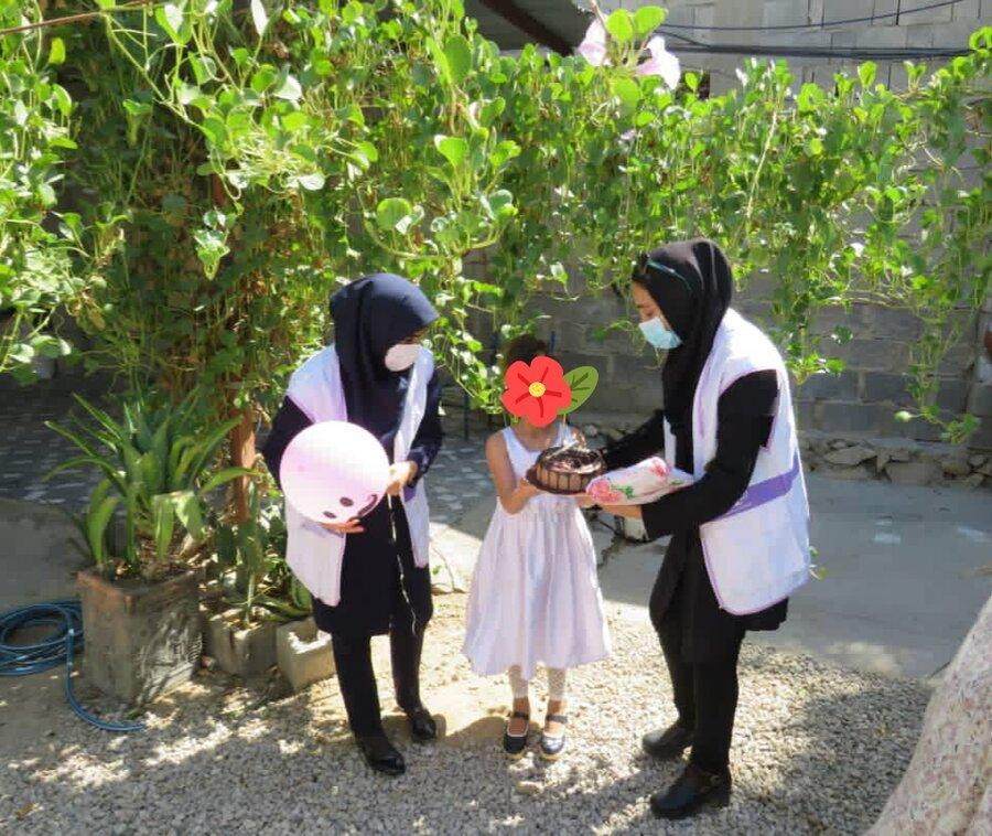 تنگستان سهم کوچک مرکز اورژانس اجتماعی تنگستان در گرامیداشت روز دختر