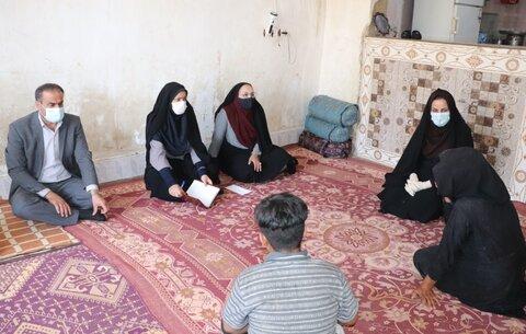 گزارش تصویری| سرکشی به خانواده جامعه هدف و بررسی فعالیتهای بهزیستی در منطقه بازفت