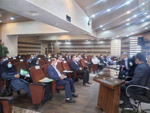 گزارش تصویری/ سخنرانی مدیرکل بهزیستی استان در دوره رابطان روابط عمومی
