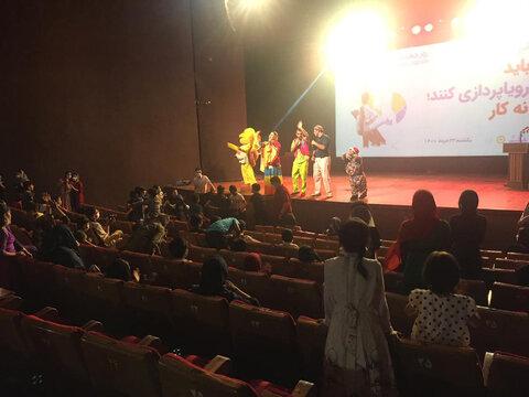 گزارش تصویری | برگزاری مراسم روز منع کارکودکان در گلستان