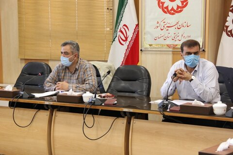 گزارش تصویری  اولین جلسه کمیته پیشگیری شورای هماهنگی مبارزه با مواد مخدر استان در سال 1400