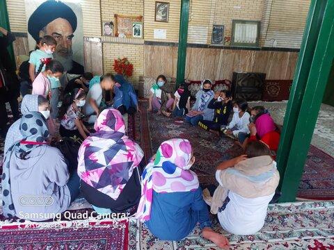 قرچک  برنامه کمک آموزشی در روستاهای شهرستان