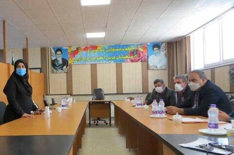 گزارش تصویری  سفر شهرستانی دکتر ولی اله نصر مدیرکل بهزیستی استان به شهرستان فلاورجان