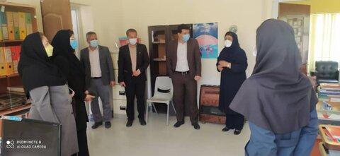 بازدید مدیرکل بهزیستی خراسان شمالی از مراکز تحت نظارت مانه و سملقان