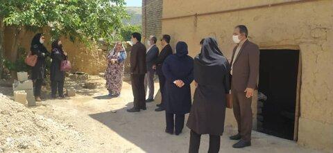 بازدید مدیرکل خراسان شمالی ازوضعیت مسکن مددجویان شیرآباد
