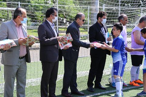 برگزاری جشنواره فرهنگی ورزشی برای کودکان کار و خیابان به مناسبت فرارسیدن روزجهانی مبارزه با کار کودک