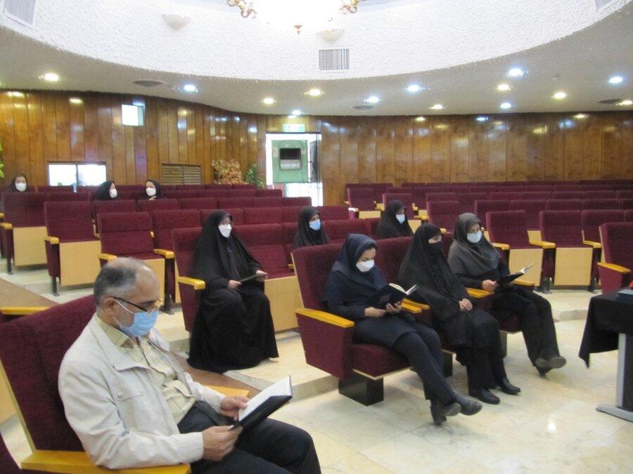 گرامیداشت شهید جبهه مقاومت در بهزیستی استان تهران