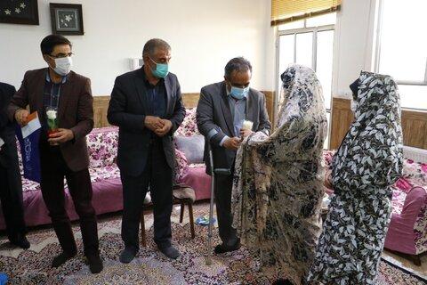 نماینده مردم یزد در مجلس شورای اسلامی و مسئولین استانی از خانه ی نوجوانانِ دخترِ بهزیستی بازدید کردند