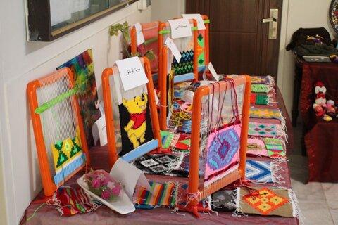گزارش تصویری  بازدید مدیرکل بهزیستی استان البرز از نمایشگاه صنایع و هنرهای دستی فرزندان بهزیستی