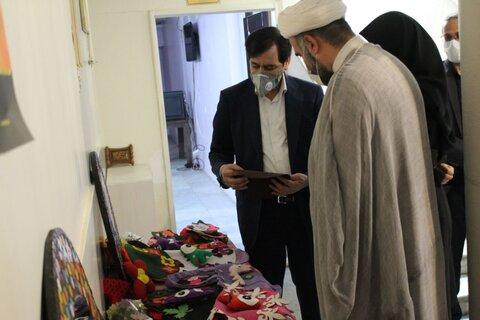 گزارش تصویری| بازدید مدیرکل بهزیستی استان البرز از نمایشگاه صنایع و هنرهای دستی فرزندان بهزیستی