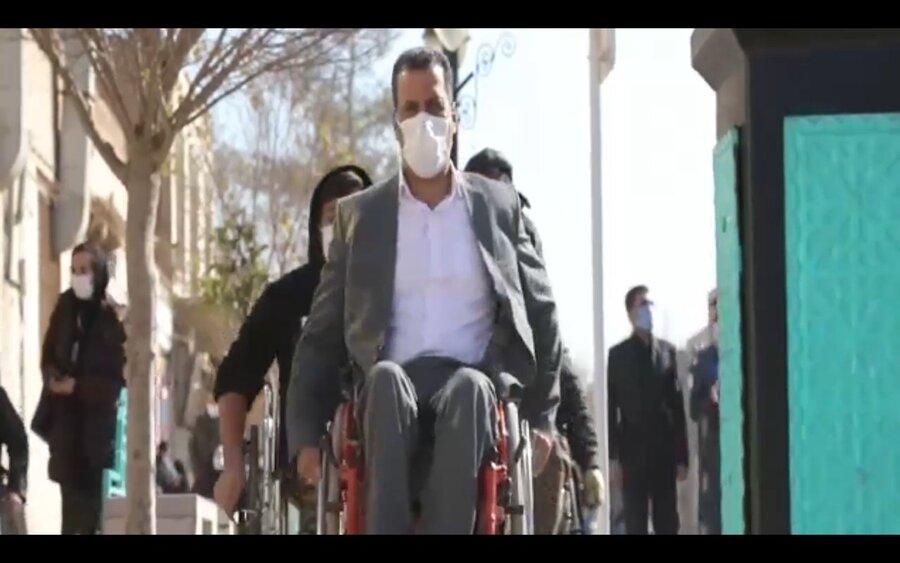 سخنان و انتظارات افراد دارای معلولیت در خصوص انتخابات - قسمت ۳