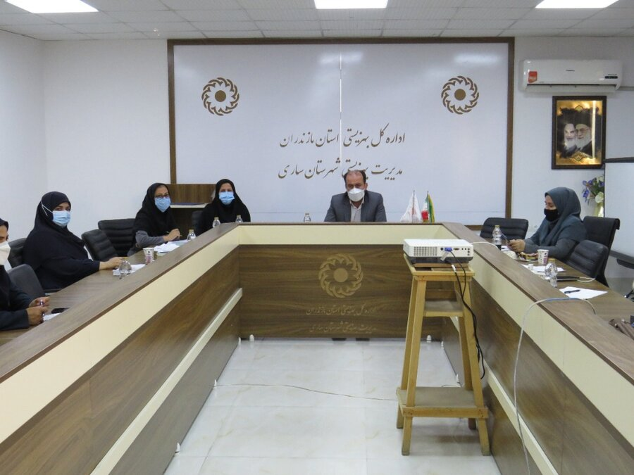 جلسه تخصصی با کارشناسان دفتر شبه خانواده بهزیستی مازندران برگزار شد