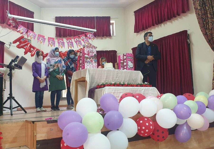 بازدید معاون امور اجتماعی بهزیستی استان تهران از مرکز دختران پژوهش حنان