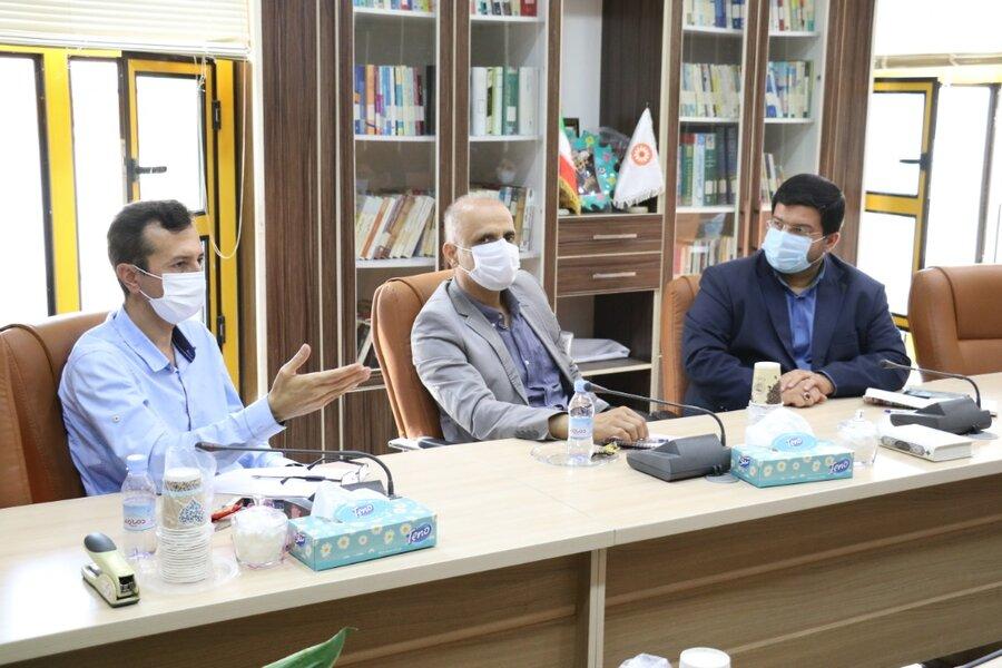 برگزاری دومین نشست کارگروه سالمندان بهزیستی استان