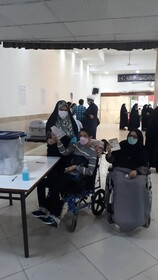 گزارش تصویری|شرکت توانخواهان عزیز خراسان جنوبی در تعیین سرنوشت میهن عزیز اسلامی ایران