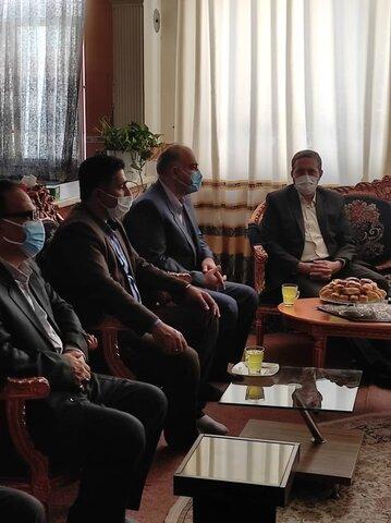 پاکدشت| بازدید مسئولین شهرستان از مرکز شبه خانواده آرامش اتابکان بمناسبت دهه کرامت