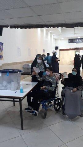 شرکت توانخواهان عزیز در انتخابات خ ج