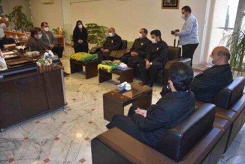 گزارش تصویری | آیین پرچمگردانی خدام حرم مطهر امام هشتم(ع) در بهزیستی خراسان رضوی به مناسبت دهه کرامت