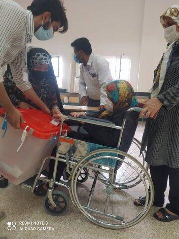 گزارش تصویری   برگزاری انتخابات در مراکز تحت نظارت بهزیستی استان